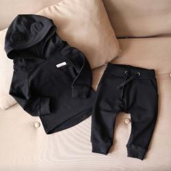 """Набор 2в1  """"Light"""" (обычные штаны) черный Plamka (Poland), , 00000922, Plamka (Poland), Детская одежда"""