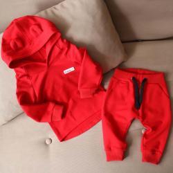 """Набор 2в1  """"Light"""" (обычные штаны) красный Plamka (Poland), , 00000920, Plamka (Poland), Наборы для малышей"""