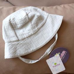 Муслиновая детская панама  'Серая' Plamka, , 00000978, Plamka (Poland), Детская одежда