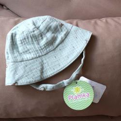 Муслиновая детская панама  'Оливка вигвам' Plamka, , 00000973, Plamka (Poland), Детская одежда