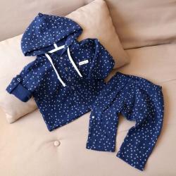 """Набор рубашка и штаны муслиновый  """"Denim"""" Plamka (Poland), , 00001014, Plamka (Poland), Шорты и футболки"""