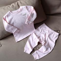 """Пижама с натуральной ткани  """"Mood"""" нежно розовая Plamka (Poland), , 00001029, Plamka (Poland), Детская одежда"""