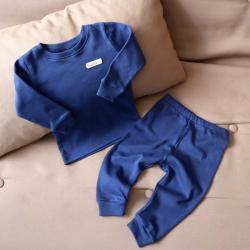 """Пижама с натуральной ткани  """"Mood"""" синяя Plamka (Poland), , 00001030, Plamka (Poland), Детская одежда"""