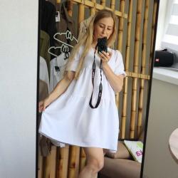 """Платье воздушное  """"Summer"""" белое  Plamka (Poland), , 00002022, Plamka (Poland), Платья"""