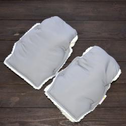 """Муфта на коляску для рук """"Классик"""" серая Plamka , , 1240002_91320, Plamka (Poland), Аксессуары"""