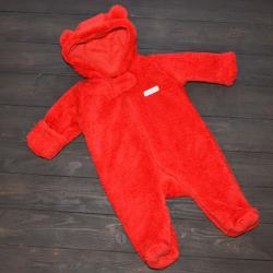 Человечек плюшевый «Мишутка» красный Plamka, , 1240020_10, Plamka (Poland), Человечки и слипы