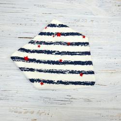 """Слюнявчик-бандана непромокаемый """"Звездочки"""", , 1240091_2, Plamka (Poland), Слюнявчики"""