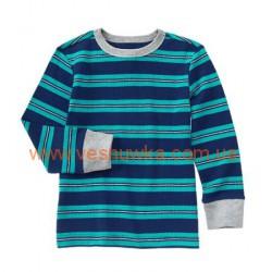 Термо реглан синий в полосочку Crazy8, , 373721, Crazy8, Регланы
