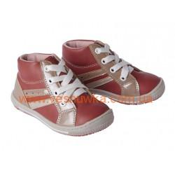 Полуботинки Lupilu (Германия) амарантового цвета, , 8888886, Lupilu (Германия), Обувь