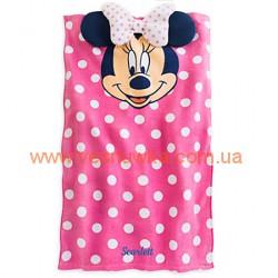 """Полотенце """"Минни"""" Дисней розовое, , 5757195, Disney, Купальники и панамки"""