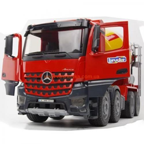 Бетоновоз Mercedes Benz Arocs Bruder (Germany)