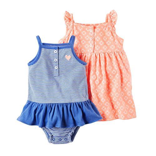 """Набор песочник+платье  2в1 Carters """"Маленькая очаровашка"""""""