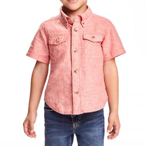 "Рубашка розового цвета (лён)  ""Лето"" OldNavy"