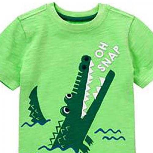 "Футболка ""Крокодил"" Cymboree"