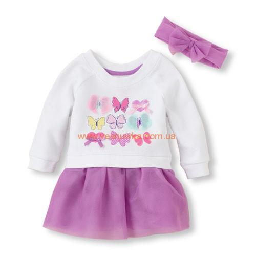 "Платье Children Place ""Бабочки"""