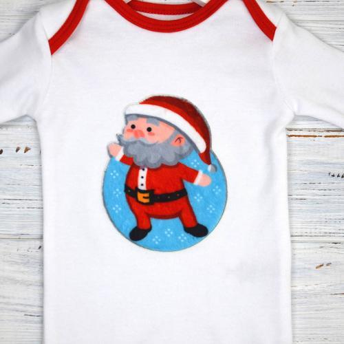 """Бодик новогодний """"Little Santa"""""""