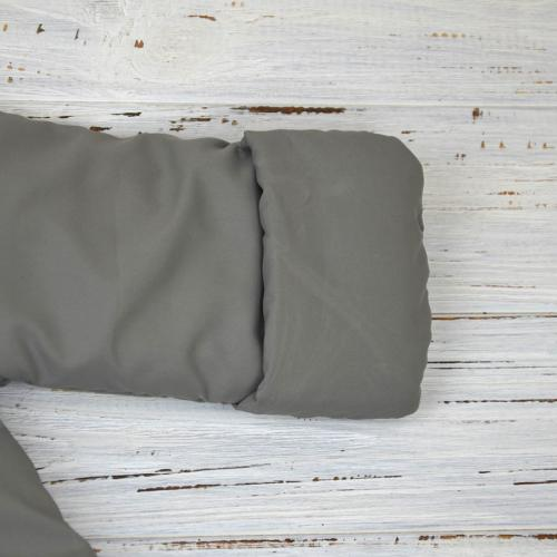 """Демисезонный комбинезон  """"LITTLE SWEET HEART"""" серый (полосатая подкладка), от -5 до +15 Plamka (Poland)"""
