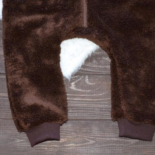Человечек плюшевый «Мишутка» шоколад 12,18,24 м Plamka