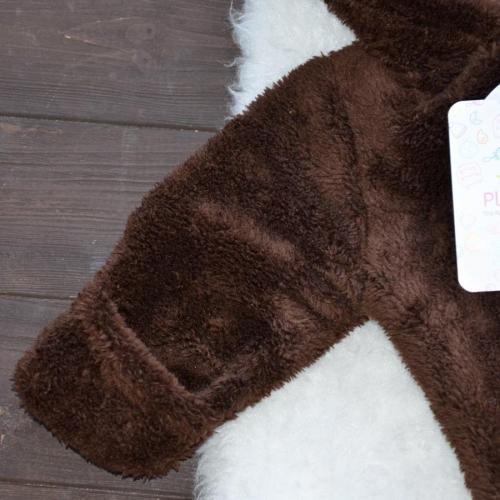 Человечек плюшевый «Мишутка» шоколад 3,6,9м Plamka