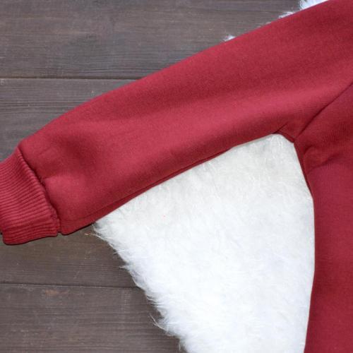 "Комбинезон на флисе с капюшоном  ""Jumpsuits"" марсала Plamka (Poland)"