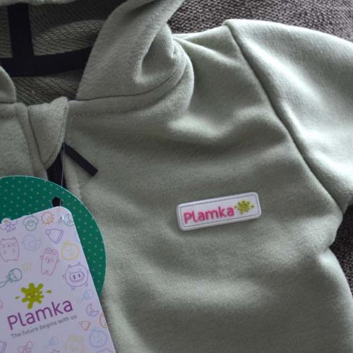 "Ромпер с капюшоном (без начеса) ""Jumpsuits"" фисташка  Plamka (Poland)"