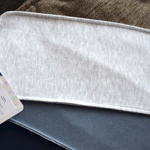 """Набор трикотажных непромокаемых полотенец  Plamka 3в1 """"Синий, темно серый и серый меланж"""""""