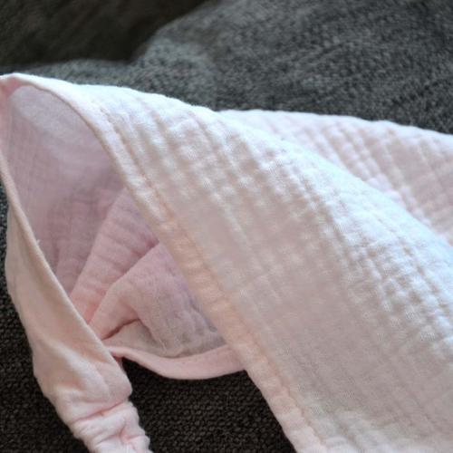 Косынка-бандана муслиновая 42-54 Plamka, розовая