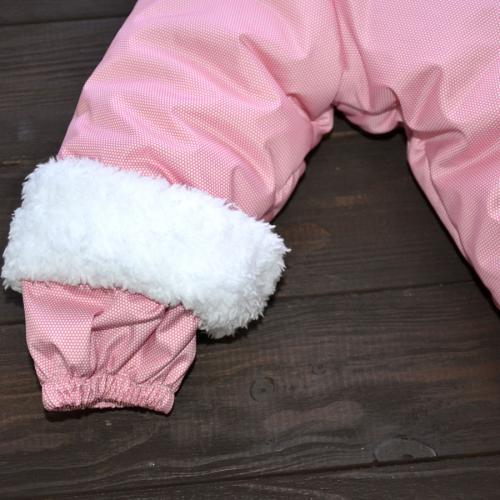 """Зимний комбинезон  """"SWEET HEART"""" розовый ,12,18+, от 0 до -30 Plamka (Poland)"""