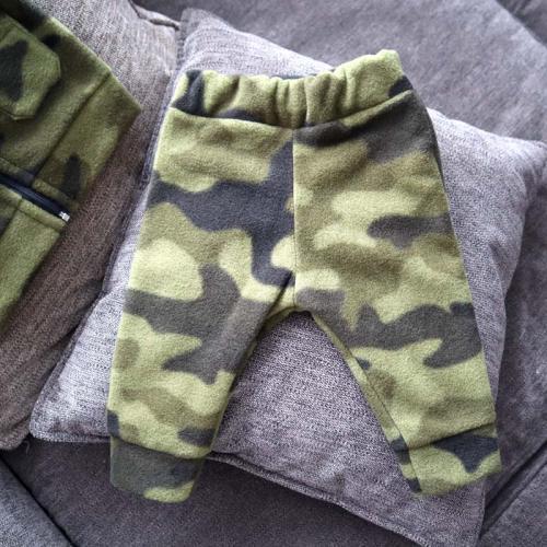 """Флисовый костюм 2в1  """"Vest set"""" камуфляж зеленый Plamka (Poland)"""