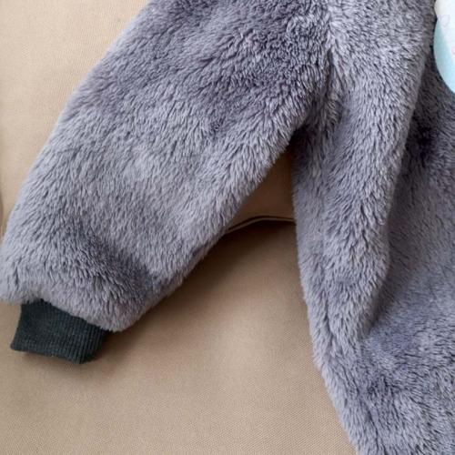 Человечек плюшевый «Мишутка» темно-серый  18,24 м Plamka