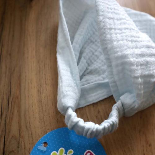 Косынка-бандана муслиновая 42-54 Plamka, нежно голубая