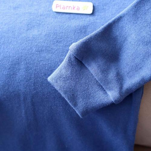 """Пижама с натуральной ткани  """"Mood"""" синяя Plamka (Poland)"""
