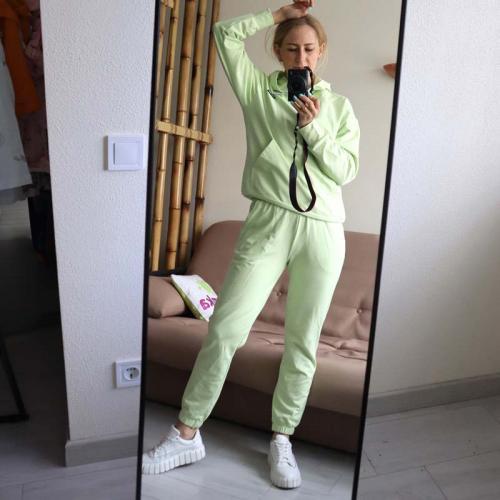 """Спортивный костюм """"Light"""" салатовый Plamka (Poland)"""