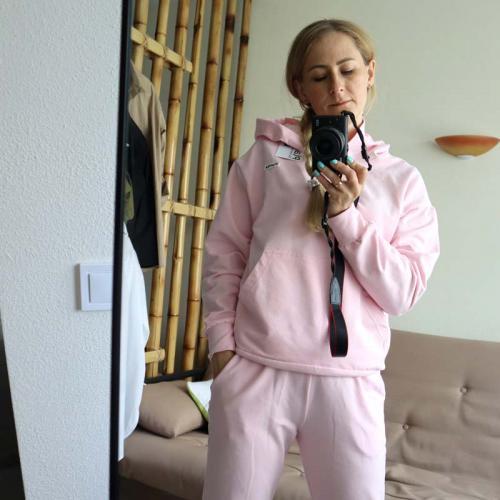 "Спортивный костюм ""Light"" розовый Plamka (Poland)"
