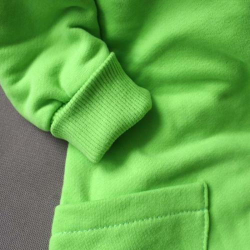 """Ромпер с капюшоном  с 2-нней молнией (без начеса) """"Jumpsuits"""" салат Plamka (Poland)"""
