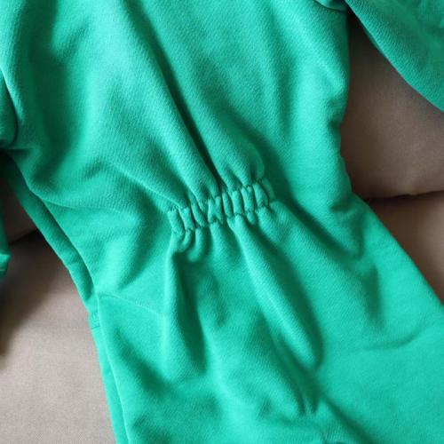 """Ромпер с капюшоном 18,24м  """"Jumpsuits"""" зеленый  Plamka (Poland)"""