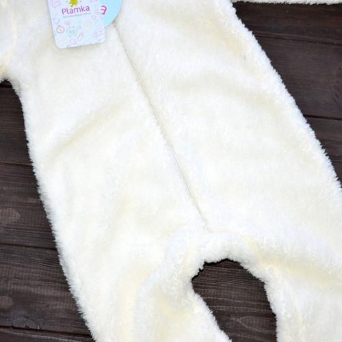 Человечек плюшевый «Мишутка» молоко 12,18,24 м Plamka