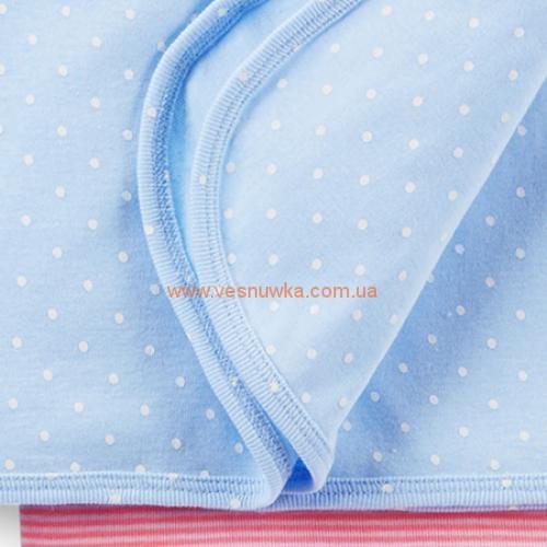 Котоновые пеленки  Carters 2в1