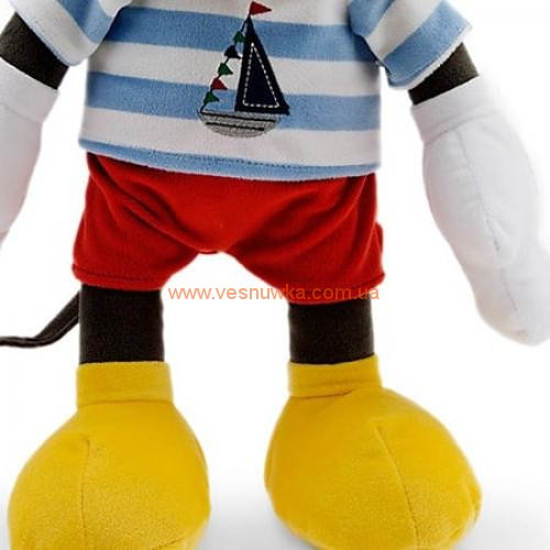 Плюшевая игрушка «Микки Маус – моряк» 42см