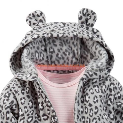 """Флисовый Набор 3в1 Carters """"Маленький леопард"""""""