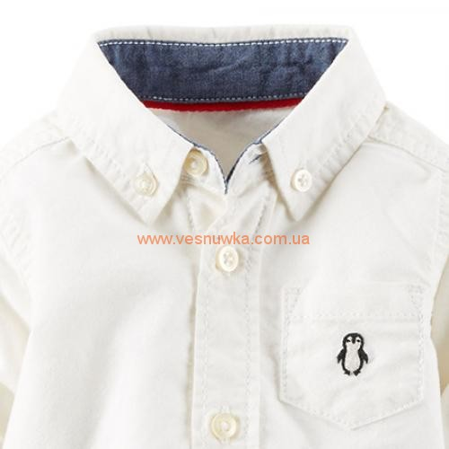 "Рубашка бодик Carters ""Пингвинчик"""