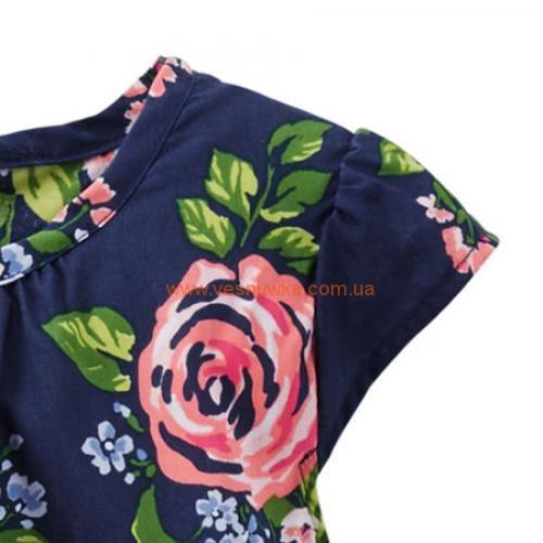 """Нарядное платье Carters """"Цветы"""""""