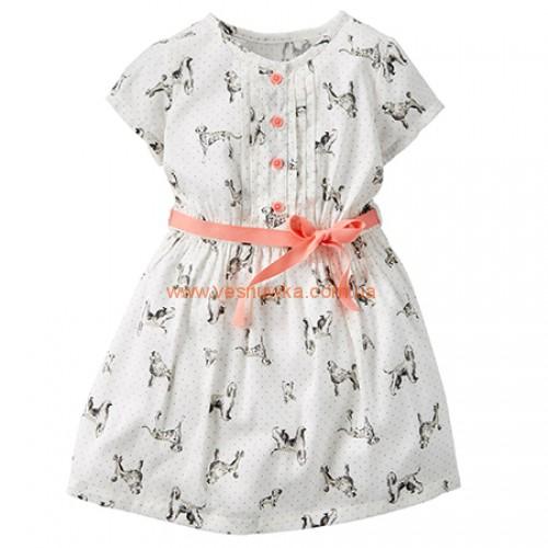 """Нарядное платье Carters """"Долматинцы"""""""