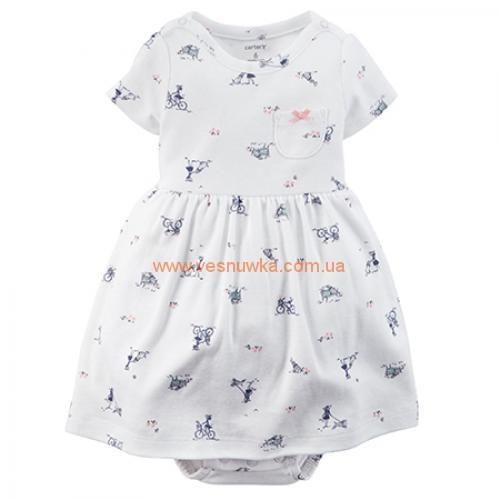 Платье с кардиганом «Маленькое счастье»