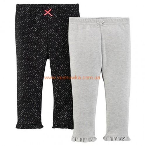Набор 2в1 штаны  Carters «Комфорт»