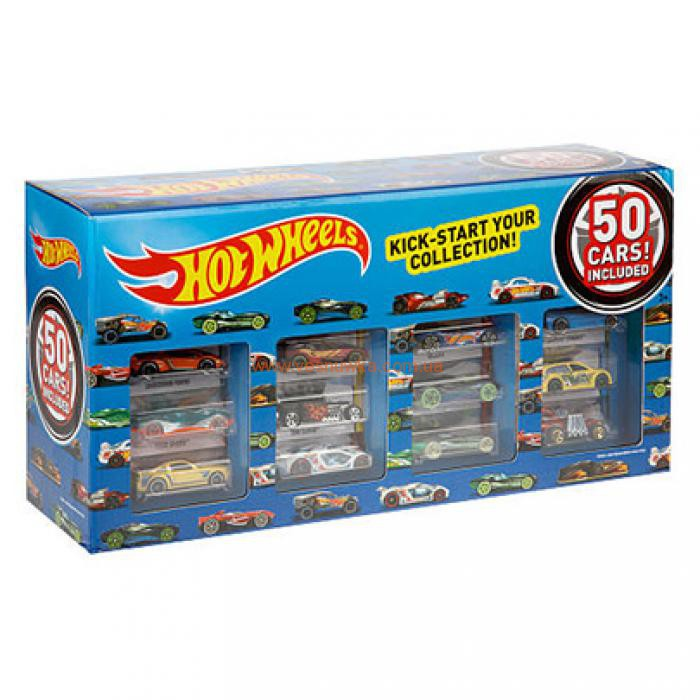 Hot Wheels 50 Car Pack