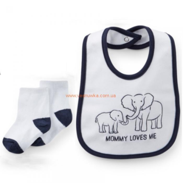 """Подарочный набор 4в1 Carters """"Слоненок"""""""
