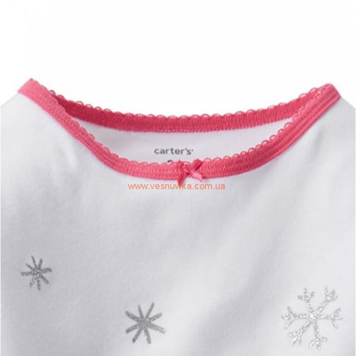 """Пижама  2в1 Carters """"Снеговик"""""""