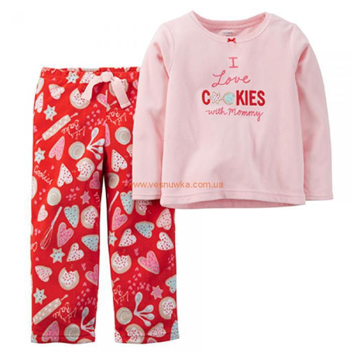 """Флисовая пижама 2в1 Carters """"Печенюшки"""""""