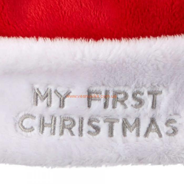 Новогодняя шапочка «Первое рождество» Carters